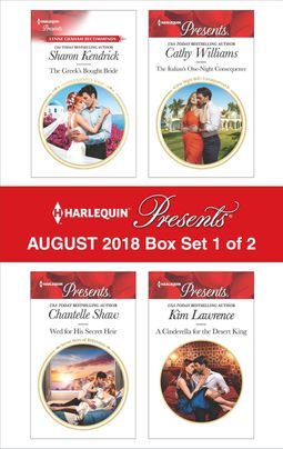 Harlequin Presents August 2018 - Box Set 1 of 2