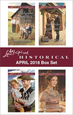 Love Inspired Historical April 2018 Box Set