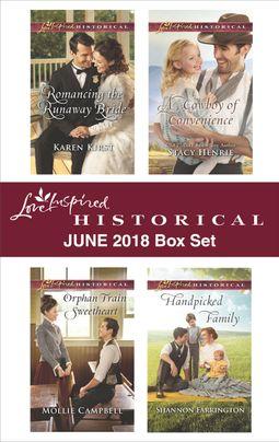 Love Inspired Historical June 2018 Box Set