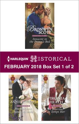 Harlequin Historical February 2018 - Box Set 1 of 2