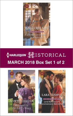 Harlequin Historical March 2018 - Box Set 1 of 2