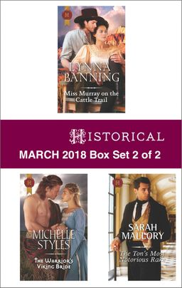 Harlequin Historical March  2018 - Box Set 2 of 2