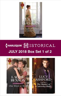 Harlequin Historical July 2018 - Box Set 1 of 2