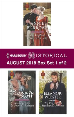 Harlequin Historical August 2018 - Box Set 1 of 2