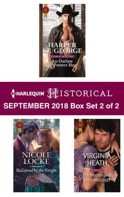 Harlequin Historical September 2018 - Box Set 2 of 2