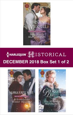 Harlequin Historical December 2018 - Box Set 1 of 2