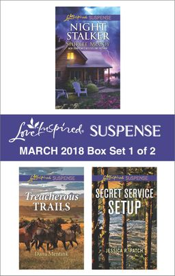Harlequin Love Inspired Suspense March 2018 - Box Set 1 of 2