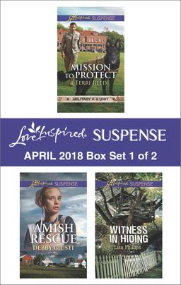 Harlequin Love Inspired Suspense April 2018 - Box Set 1 of 2