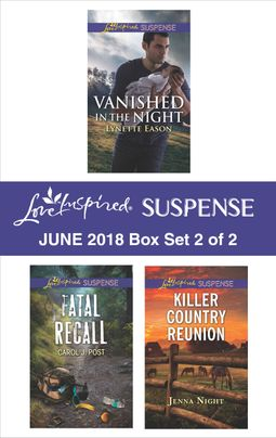 Harlequin Love Inspired Suspense June 2018 - Box Set 2 of 2