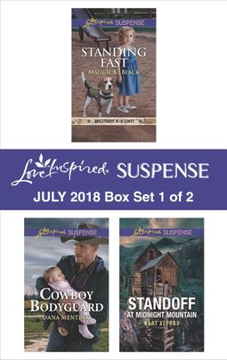 Harlequin Love Inspired Suspense July 2018 - Box Set 1 of 2