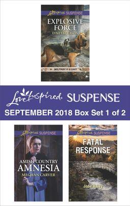 Harlequin Love Inspired Suspense September 2018 - Box Set 1 of 2