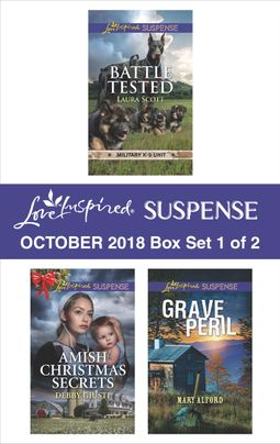 Harlequin Love Inspired Suspense October 2018 - Box Set 1 of 2