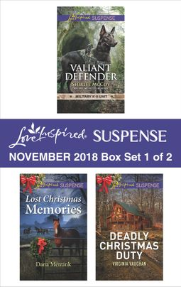 Harlequin Love Inspired Suspense November 2018 - Box Set 1 of 2