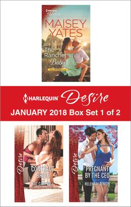 Harlequin Desire January 2018 - Box Set 1 of 2