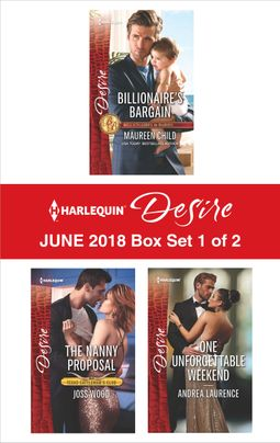 Harlequin Desire June 2018 - Box Set 1 of 2