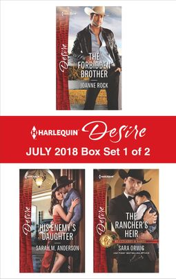 Harlequin Desire July 2018 - Box Set 1 of 2