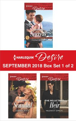 Harlequin Desire September 2018 - Box Set 1 of 2