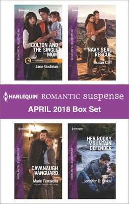 Harlequin Romantic Suspense April 2018 Box Set