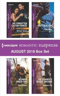 Harlequin Romantic Suspense August 2018 Box Set